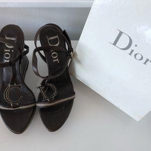 Christian Dior Wedges
